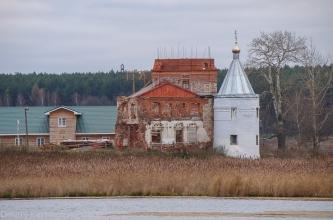 Восстановление монастыря 2009 год