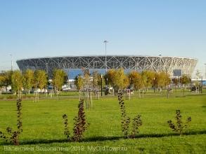М-2018 по футболу. Стадион «Волгоград Арена»