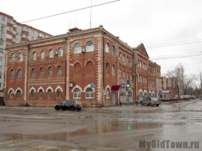 Вторая пожарная часть Царицына. Фото Волгограда
