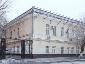 Первая женская гимназия (Мариинская) в Царицыне. Фото Волгограда