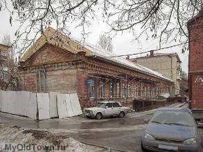 Здание Жигулевских пивных складов. Улица 10-й дивизии НКВД. Фото