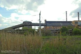 Промышленные корпуса ВолгоГРЭС. Фото Волгограда
