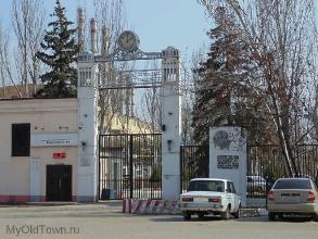 Центральная проходная и главный корпус ВолгоГРЭС. Фото Волгограда