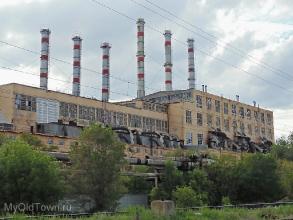 Главный корпус ВолгоГРЭС. Фото Волгограда
