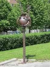 Волгоградская областная больница. Выставка скульптур Павла Черкиса