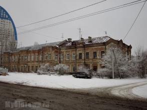 Улица Пугачёвская дом 3. Памятник архитектуры 19 века. Фото Волгограда