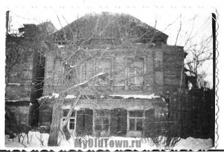 Улица Академическая дом 11а. Старое фото Волгограда