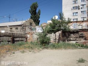 Улица Огарева, дом 20. Вид со двора. Фото Волгограда