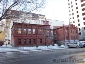 Жилой дом в Царицыне. Построен в 1914 году. Улица Ковровская, 16а. Фото Волгограда