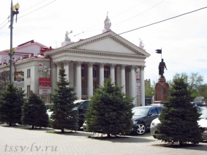 Улица Мира. НЭТ. Фото Волгограда