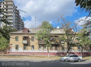 Улица Козловская дом 24. Фото Волгограда