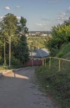 Спуск к реке от Дмитриевского собора. Фото Владимира