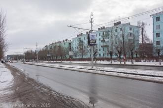Проспект Ленина. Вид на пл. Дзержинского. г. Дзержинск. 2015 г.