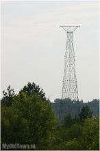 Так выглядит Башня Шухова издали. Фото