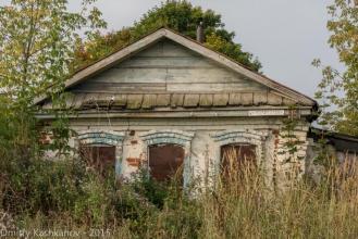 Село Толба. Заброшенный старый дом. Фото