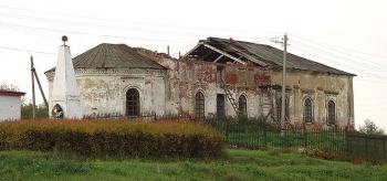 Церковь Дмитрия Солунского. Село Толба