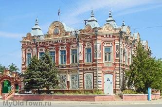 Ленинск. Улица Ленина. Фото старинного дома