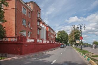 1 корпус НГТУ. Фотографии Верхне-Волжской набережной. Нижний Новгород