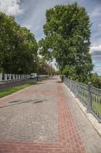 Полдень. Фотографии Верхне-Волжской набережной. Нижний Новгород