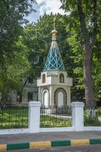 Часовня. Фотографии Верхне-Волжской набережной. Нижний Новгород