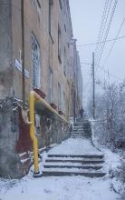 Пешеходный спуск на улице Ильинской. Дом 4. Фото