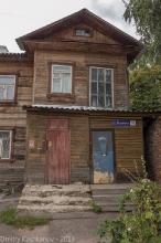 Улица Ильинская, 79а. Деревянный дом. Фото