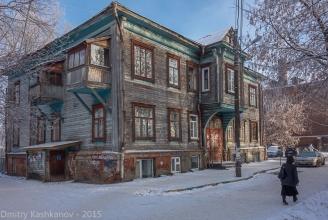 Униветситетский переулок, дом 1, Фото деревянного дома