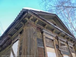 Наличники. Резьба по дереву. Старые дома в Нижнем Новгороде