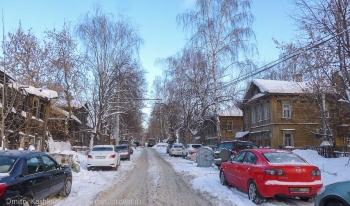 Это почти центр Нижнего Новгорода. Ул. Новосолдатская