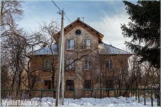 Почти замок феодала. Улица Афанасьева. Нижний Новгород. Фото