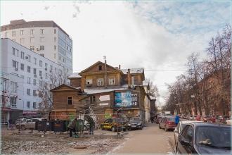 Улица Грузинская. Нижний Новгород