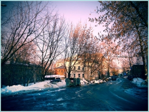 Улица Грузинская в Нижнем Новгороде. Весенние фотографии