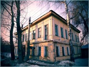 Старые дома на улице Грузинской. Фото Нижнего Новгорода