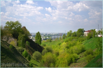 Улица Большие Овраги. Нижний Новгород. Фото 2006 г.