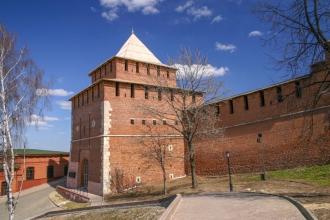 Нижегородский Кремль. Ивановская башня. Фото
