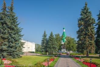 Архангельский собор на территории Нижегородского кремля. Фото