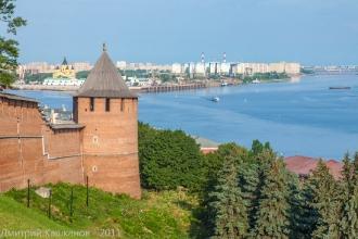 Борисоглебская башня Нижегородского кремля. Фото