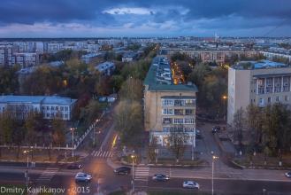 Перекресток проспекта Молодежного и улицы Ватутина. Нижний Новгород