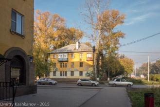 Перекресток с улицей Толбухина. Фото проспекта Молодежного