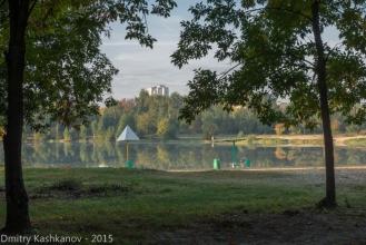 Озеро на проспекте Молодежном