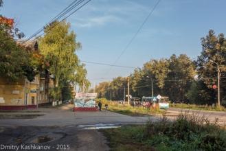Остановка транспорта. Фото проспекта Молодежного