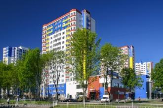 Микрорайон Молодежный. Фото 2007 года