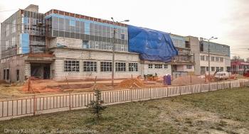 Строительство торгового центра Звезда на месте бывшего дома пионеров. 2014