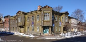 Перекресток улиц Славянская и Студеная. Нижний Новгород. Фото