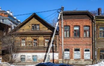 Старые дома на улице Славянской. Дом 4а