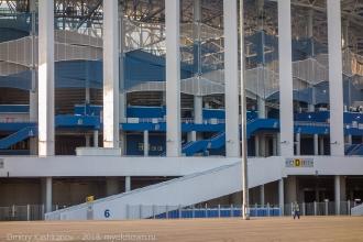 Стадион Нижний Новгород. Входы на верхние трибуны