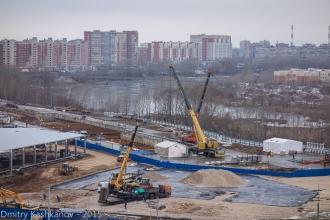 Возведение новой инфраструктуры в районе Мещерского озера