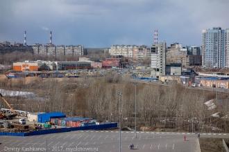 Ул. Карла-Маркса и Мещерское озеро. Окрестности нового стадиона