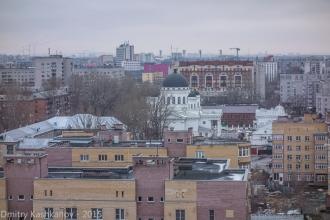 Улица Бетанкура и Староярмарочный собор. Фото 2015 г.