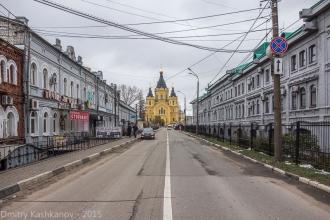 Улица Стрелка. Нижний Новгород. Собор Александра Невского
